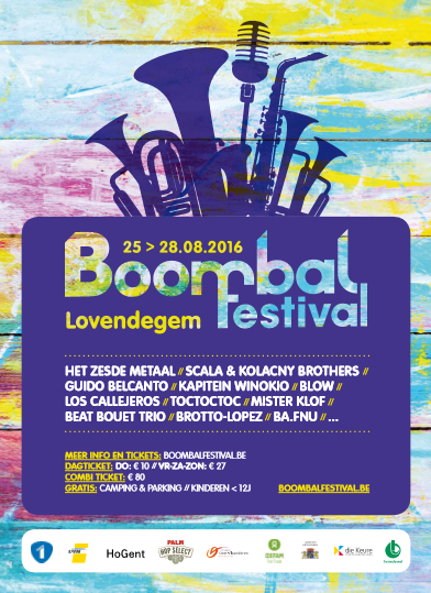 crédit affiche http://www.boombalfestival.be/archieven/