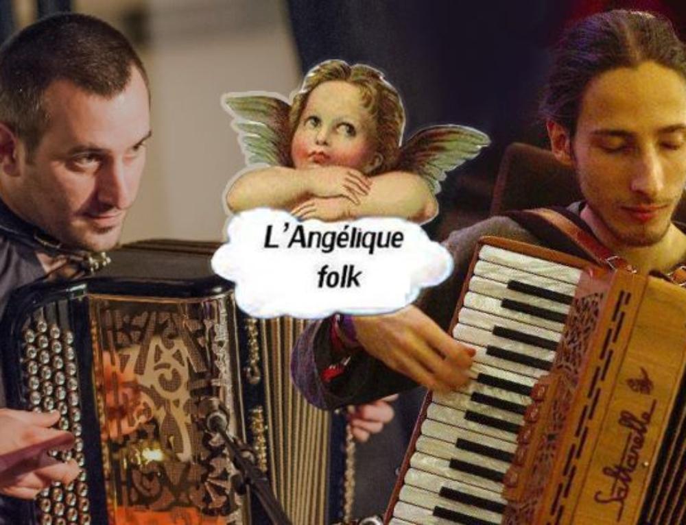 Jeudi 17 mai 2018 : bal folk avec Arnaud & Pal À l'Angélique Folk
