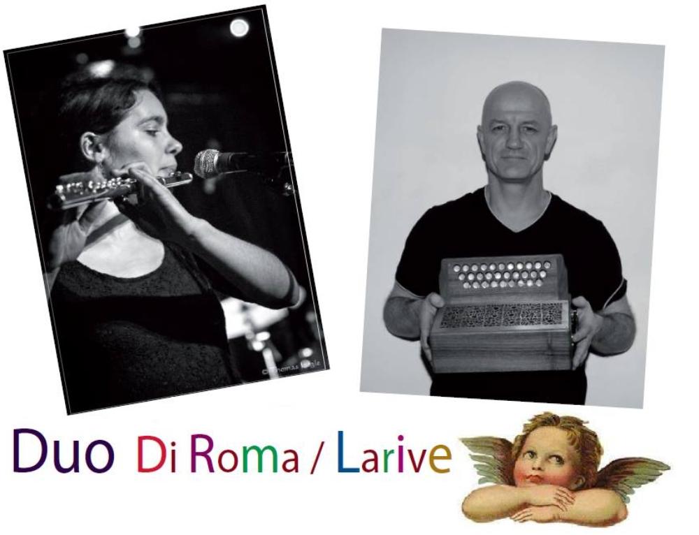 Jeudi 31 mai 2018 : bal folk avec Duo Di Roma / Larive